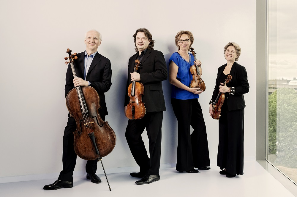 Utrecht String Quartet, foto door Allard Willemse